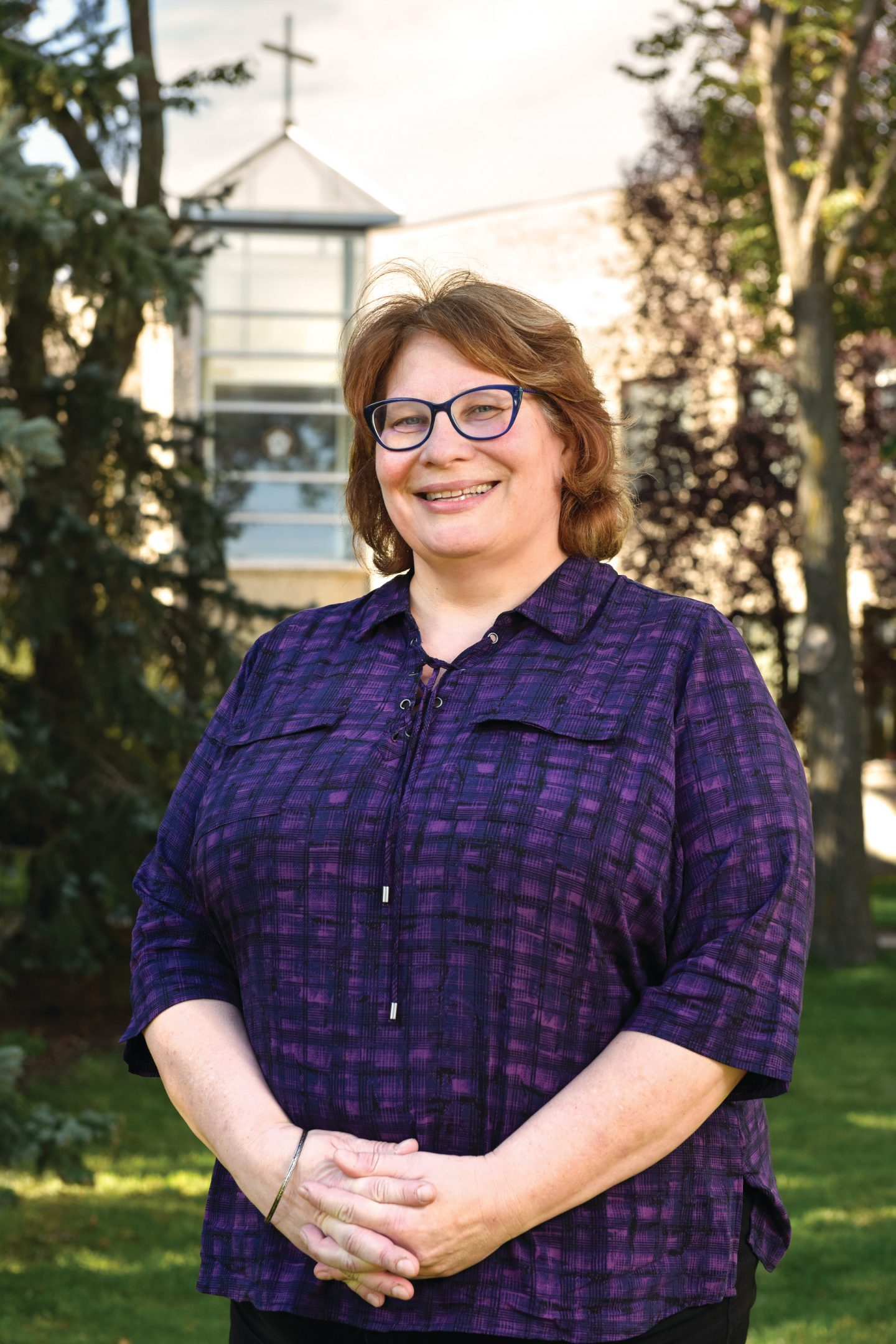 Luther College Women's and Gender Studies and Religious Studies associate professor Brenda Anderson