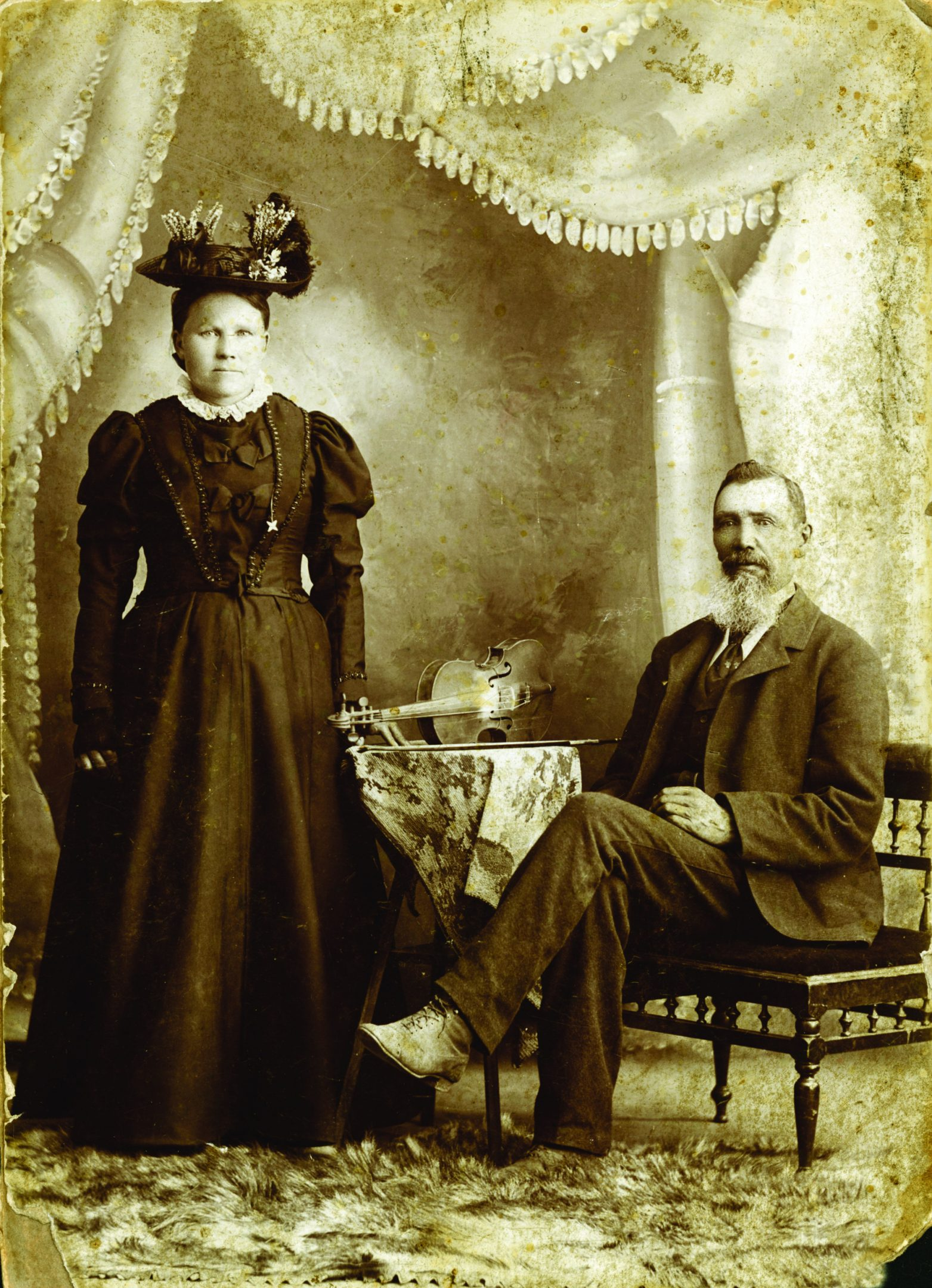 David Garneau's great-great grandparents