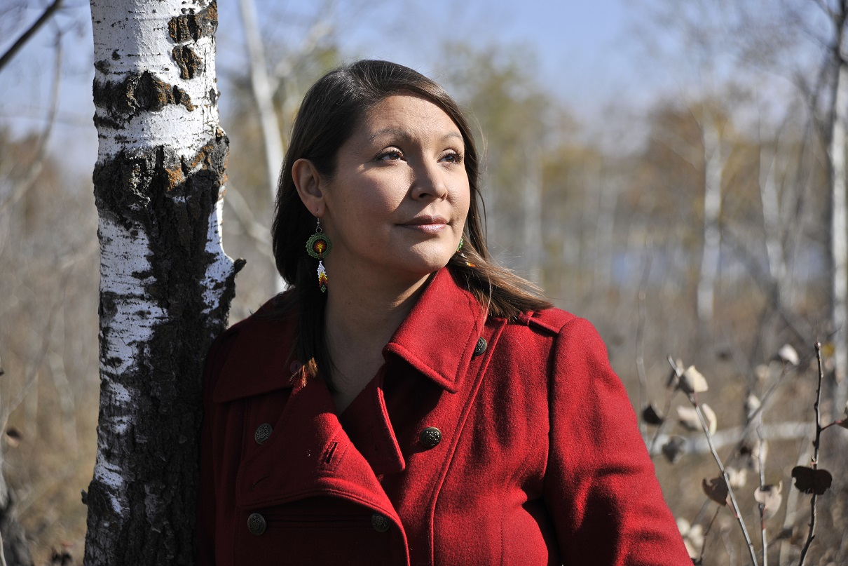 Brass was a rising star in the journalism field until she turned her back on her chosen career to focus on Indigenous food sovereignty, climate change, Indigenous health and wellness and personal healing and transformation. (Photo by Don Hall)