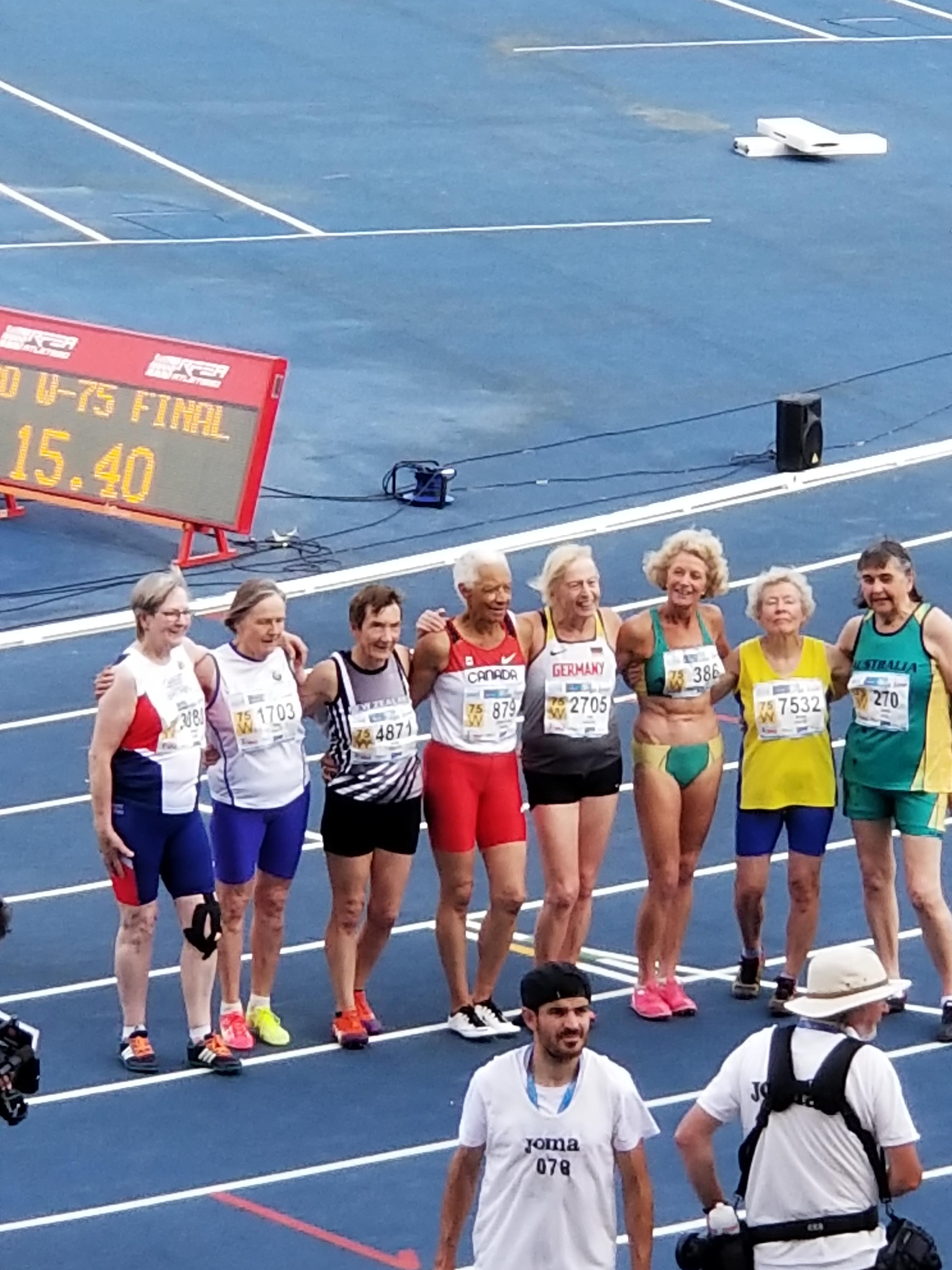 Carol LaFayette-Boyd with team.