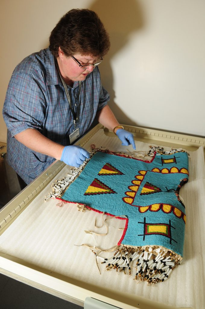 Evelyn Siegfried, curator of Indigenous studies at the Royal Saskatchewan Museum. (Photo courtesy of Royal Saskatchewan Museum)