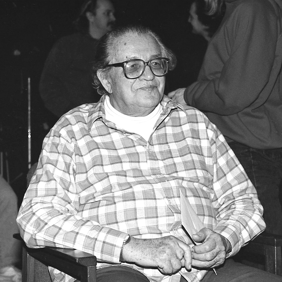 Renowned German filmmaker and editor Jean Oser, an early instructor at the University, inspired many of the first generation of Saskatchewan filmmakers. (Photo courtesy of Department of Film)
