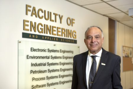 Dean Esam Hussein the Faculty of Engineering and Applied Science.