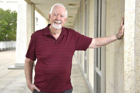 University of Regina Politics and International Studies professor emeritus, Howard Leeson. (Photo by Trevor Hopkin)