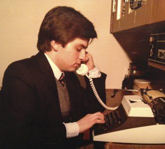 1979 photo of O'Shea.