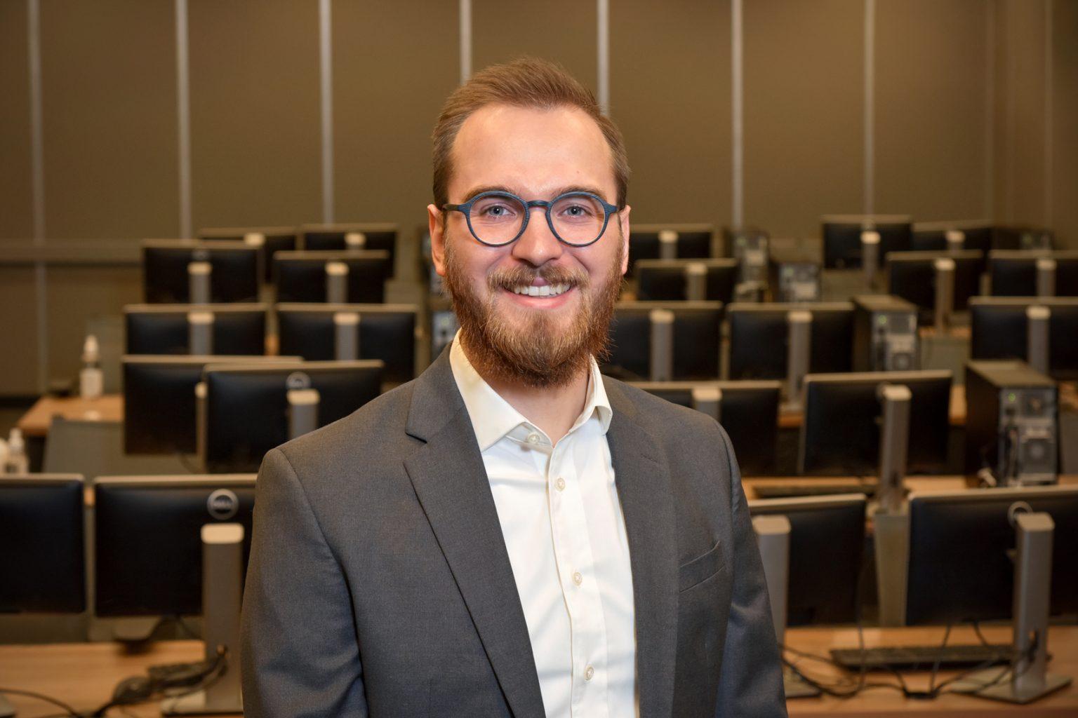 University of Regina Engineering graduate Brad Lulik.