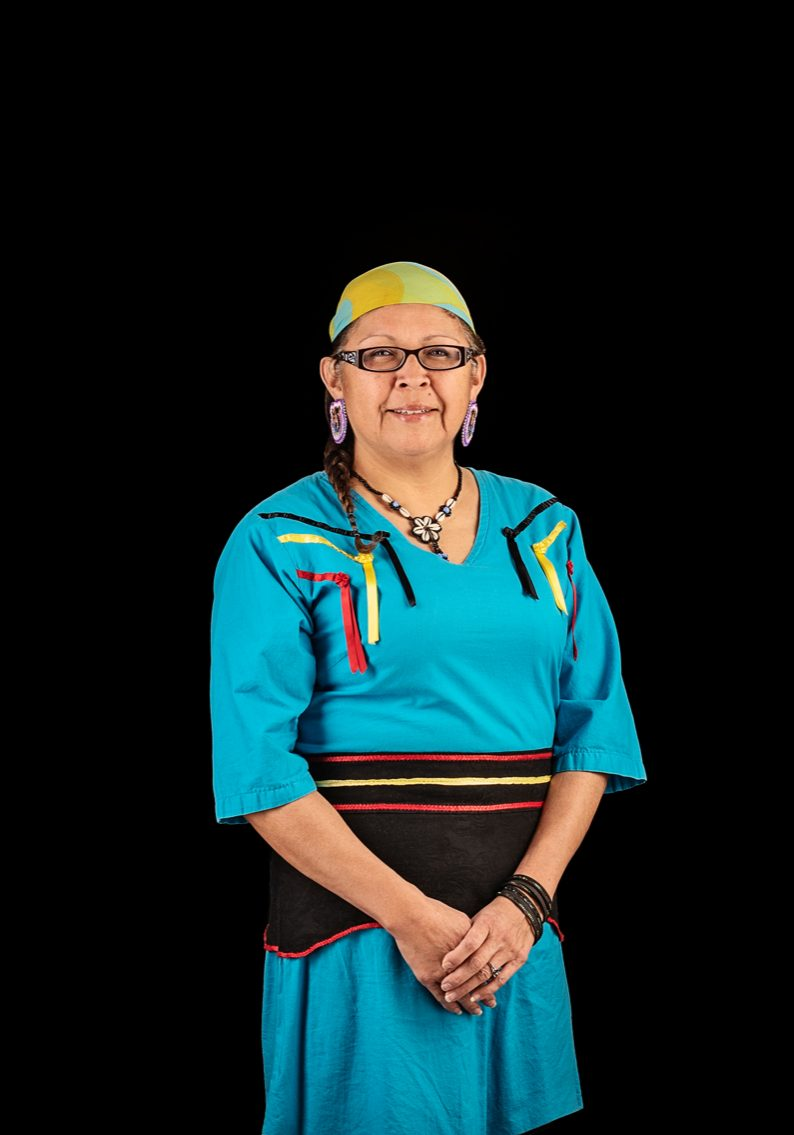 Margaret Kisikaw Piyesis, CEO of Regina's All Nations Hope Network. Photo by Carina Gartner, Details Photography Studio